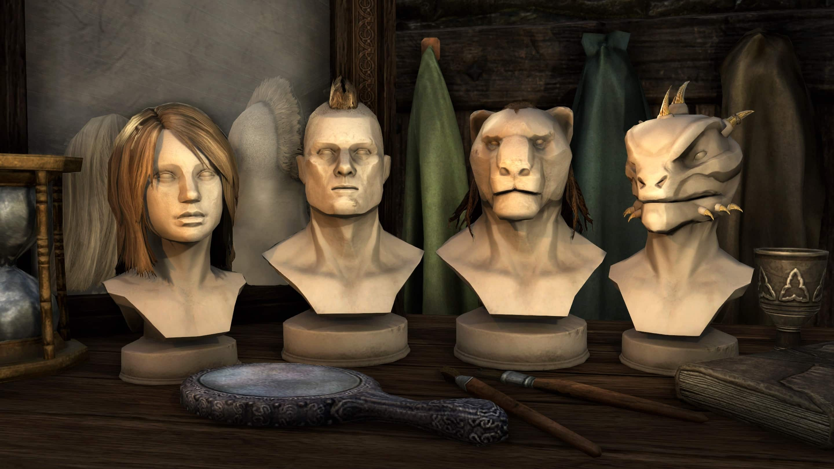 how to change appearance with race menu skyrim