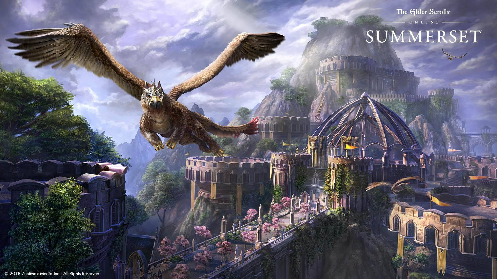 Bring Summerset Home With These New Wallpapers The Elder