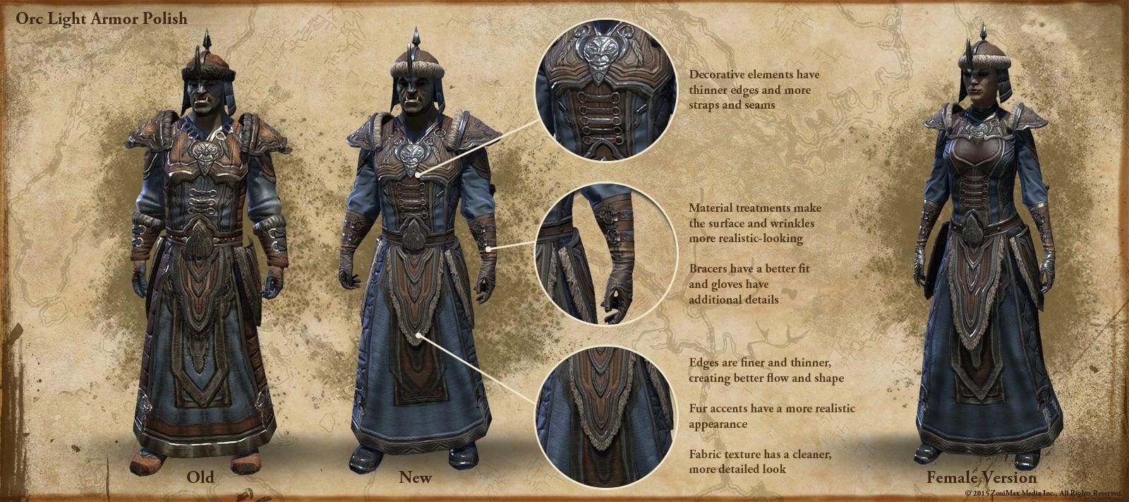 Elder Scrolls Online Clothing Racial Styles
