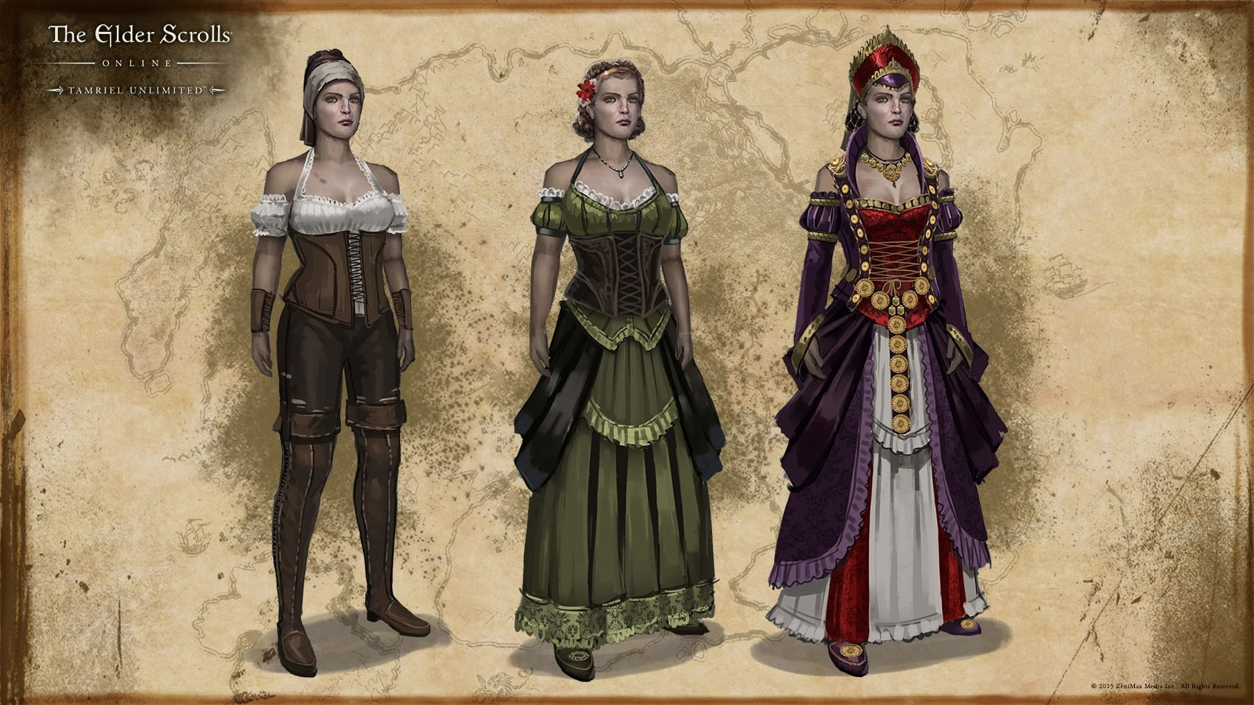 Loremaster S Archive Nobles Fashionable Attire The