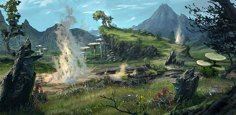 Image result for elder scrolls landscape