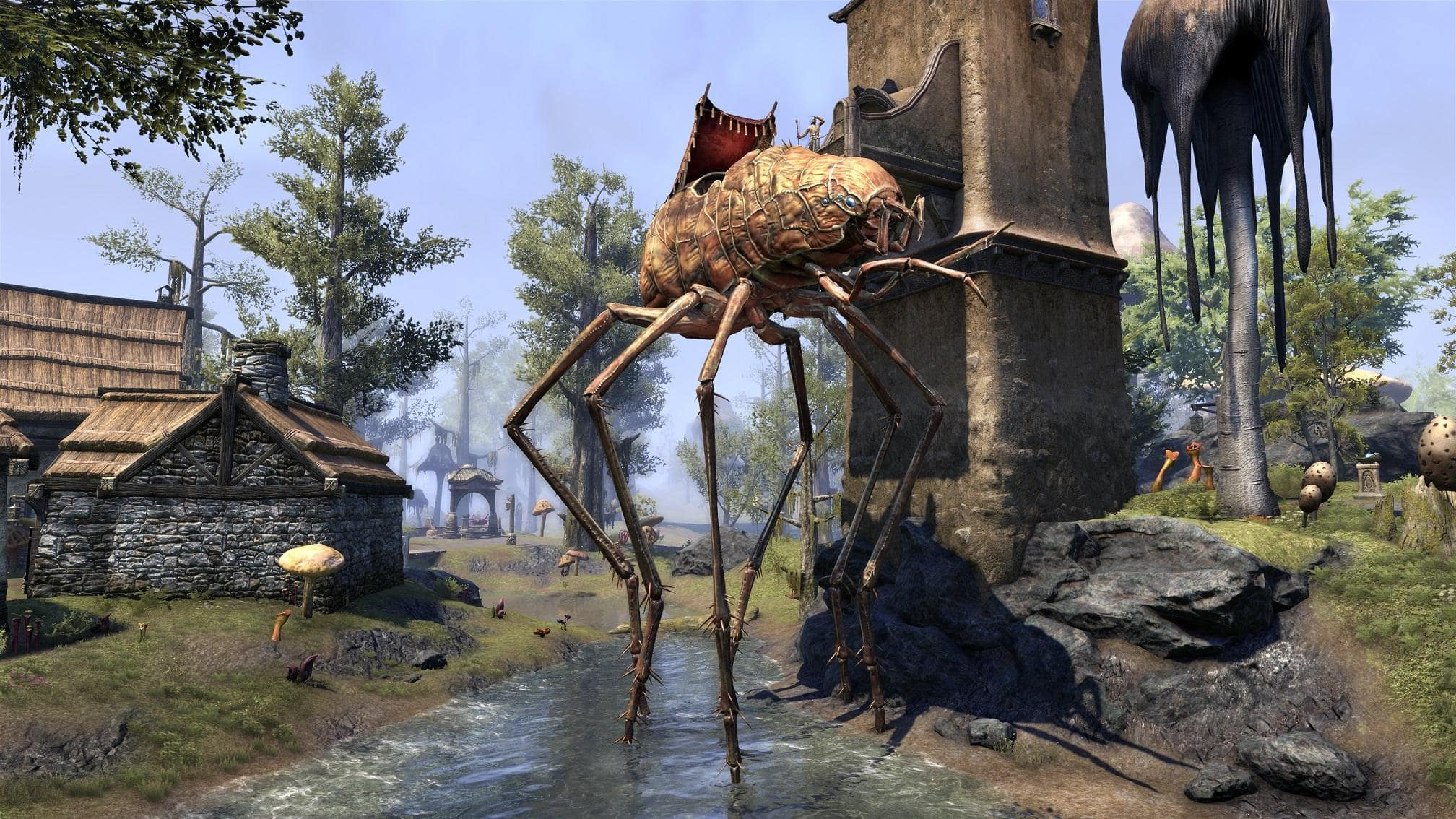 City To Upgrade Your Bank E And A Pack Merchant Inventory Found In The Canton Of St Olms Vivec