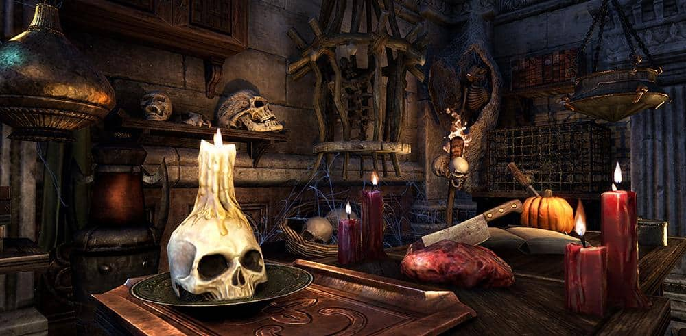 Eso Halloween House 2020 ESO Community Spotlight – Boris' Haunted Mansion   The Elder