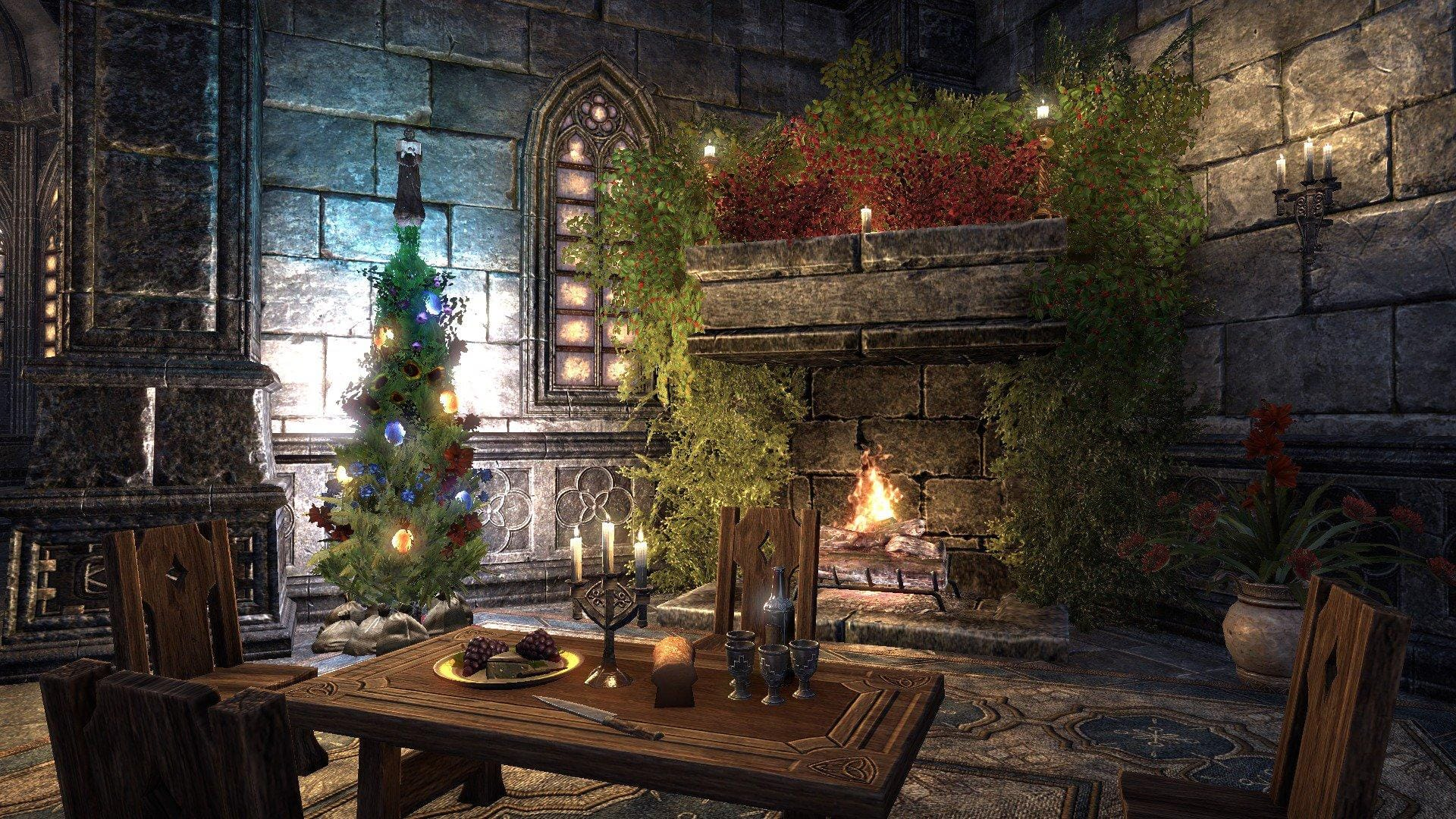 The Eso Community Gets Festive For The Holidays The