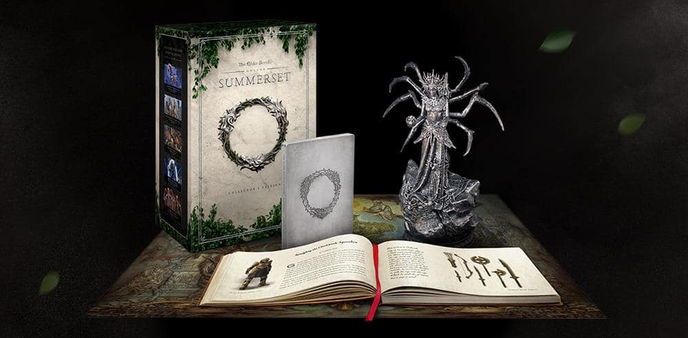 ESO: Summerset Editions & Pre-Purchase Rewards - The Elder Scrolls