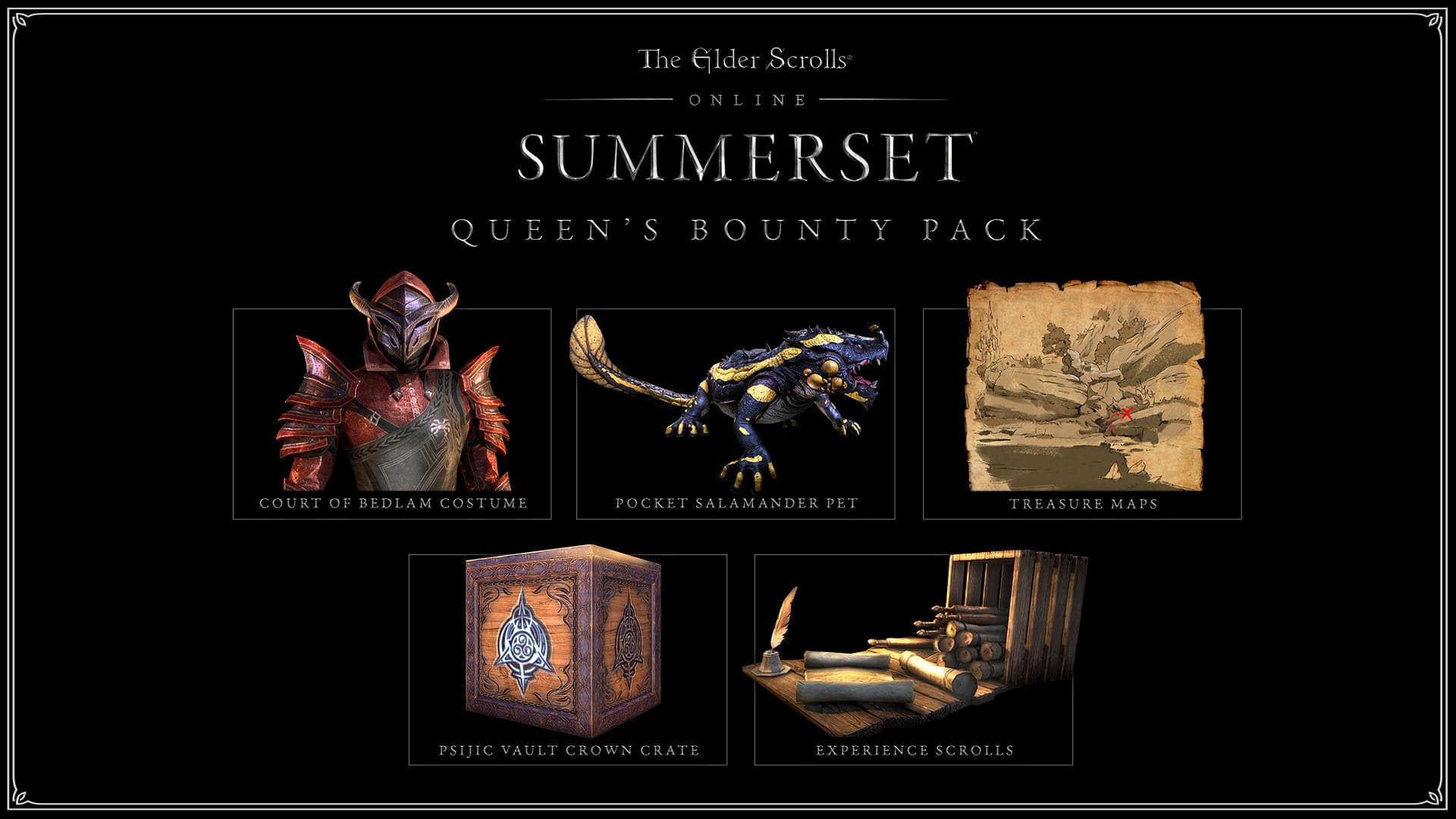 ESO: Summerset Editions & Pre-Purchase Rewards - The Elder