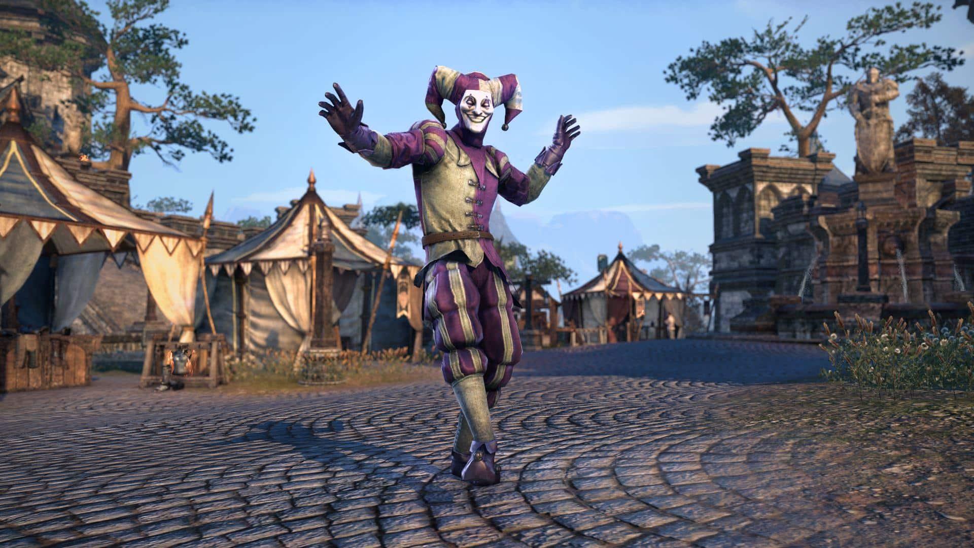 Enjoy Frivolous Fun During the Jester's Festival Event