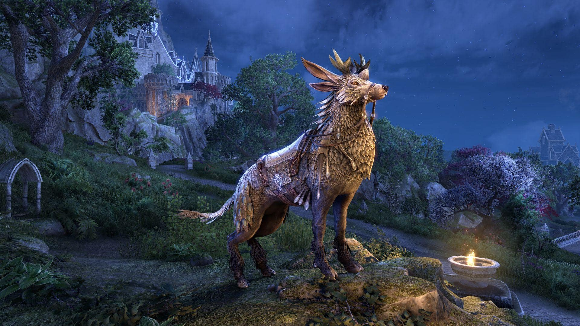 Elder Scrolls Halloween Mount 2020 Feathers Take Part in ESO's End of Year Events & Unlock an Indrik Mount