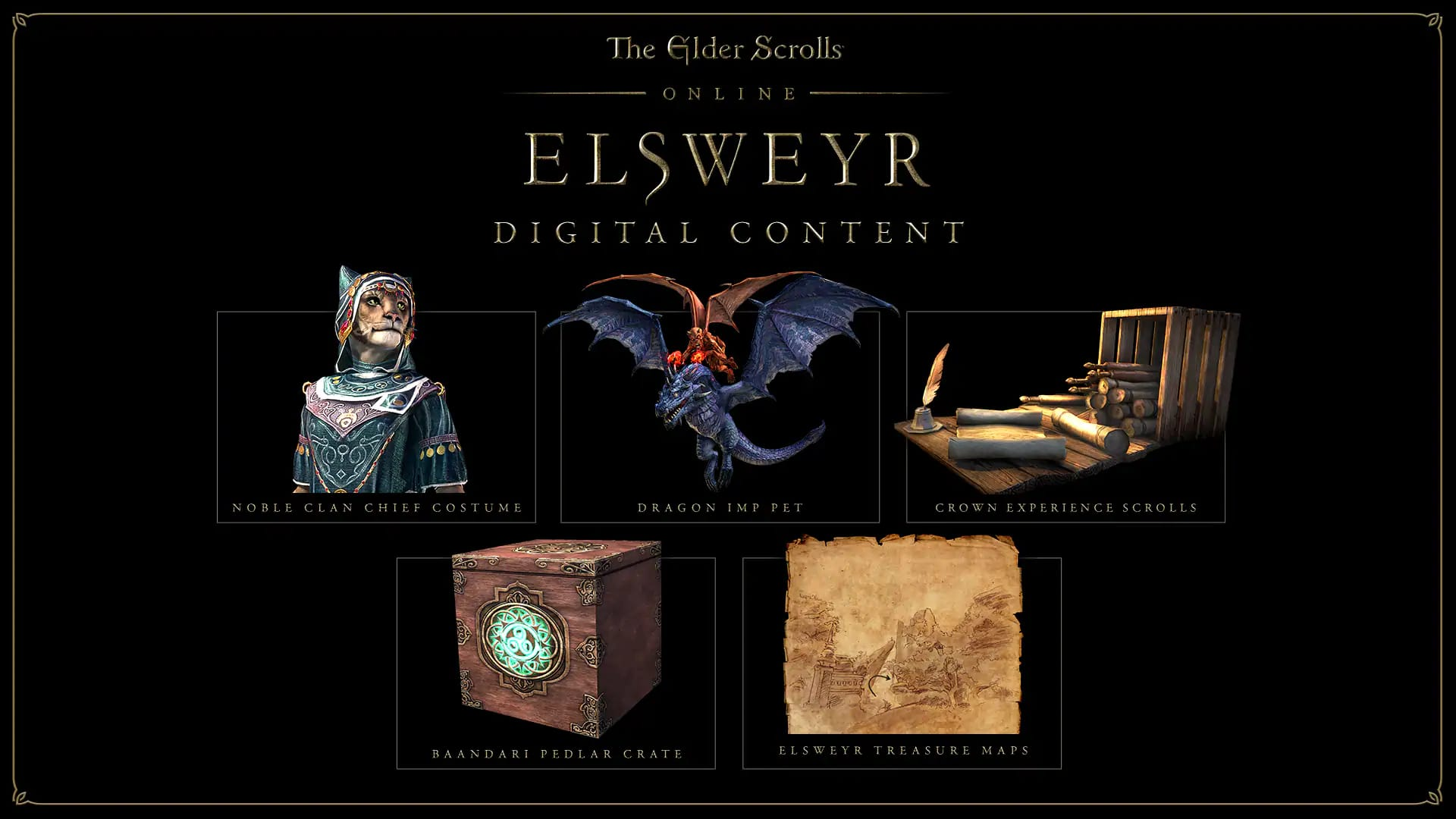 Elsweyr Editions & Pre-Purchase Rewards - The Elder Scrolls Online