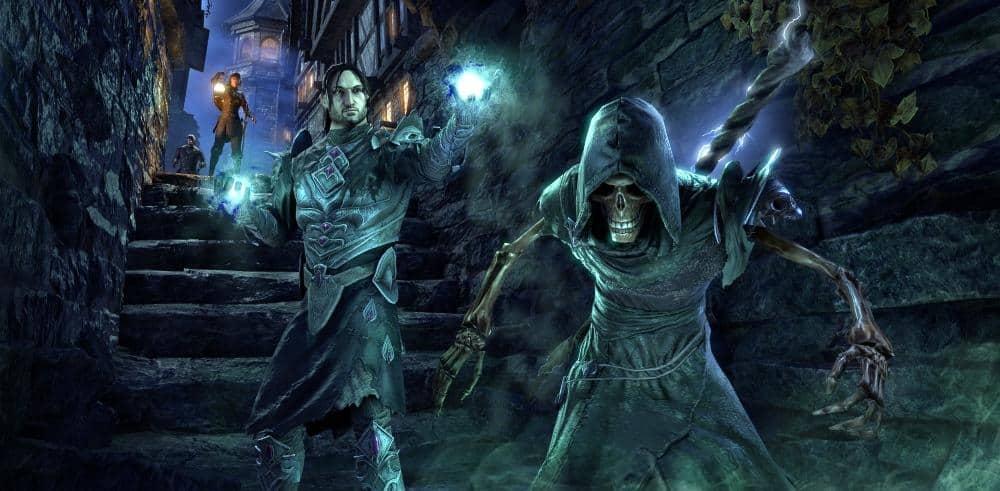 Don't Get Caught! Necromancy in The Elder Scrolls Online - The Elder