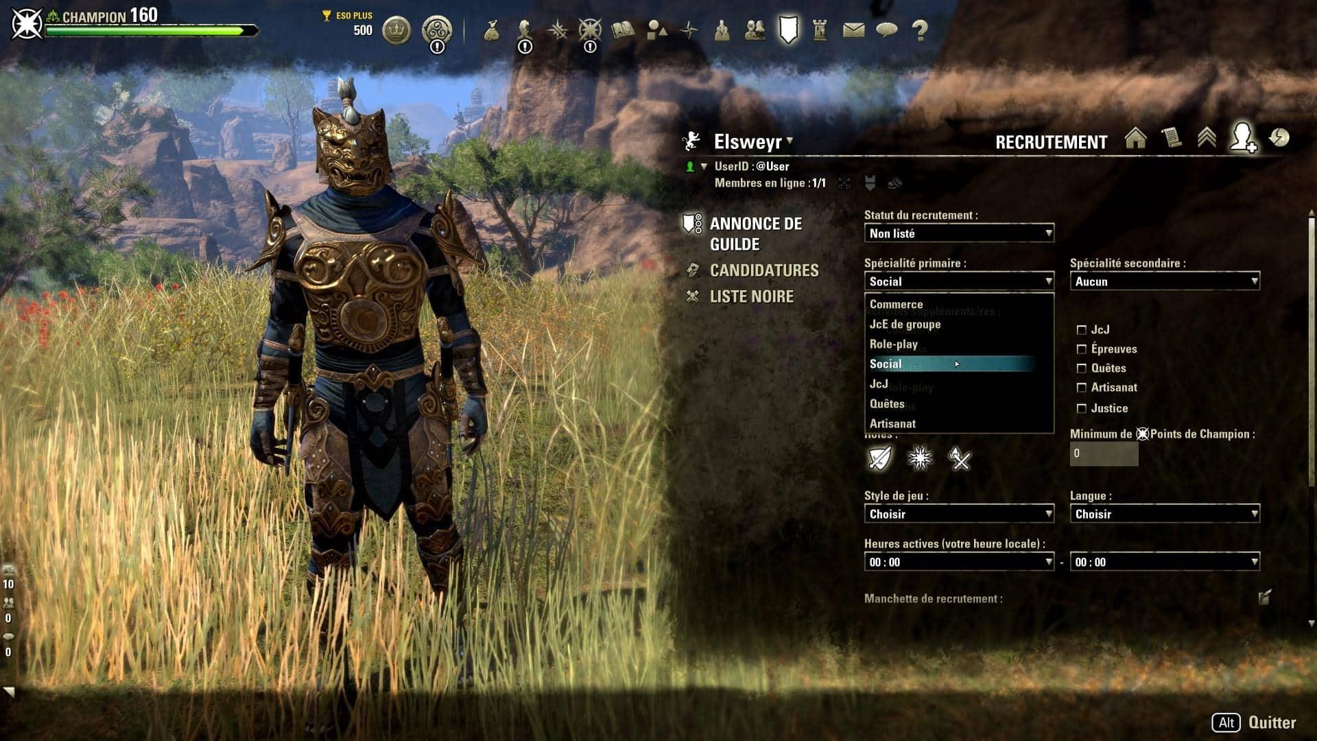 Est-il matchmaking dans Elder Scrolls en ligne