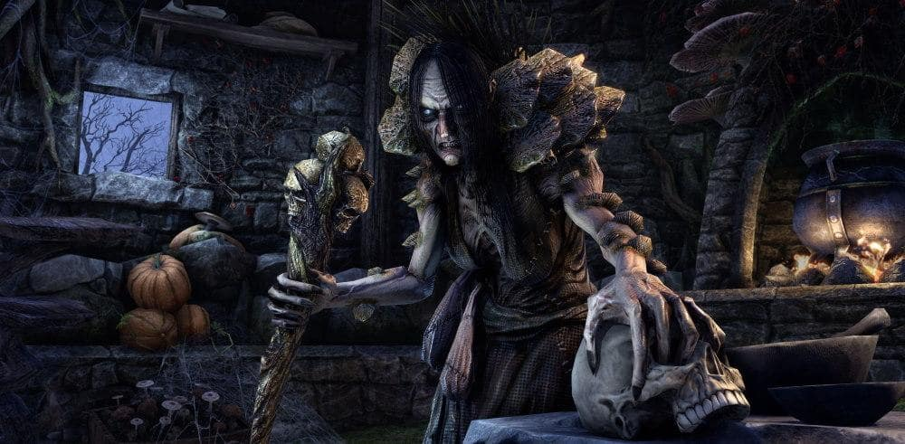 Eso Halloween House 2020 The Spooky Season Is Here with the Return of the Witches Festival