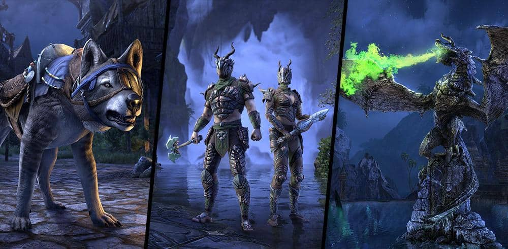 Crown Store Showcase January 2020 The Elder Scrolls Online The armor and weapons can be forged (and tempered) under the dragon category (armor). crown store showcase january 2020