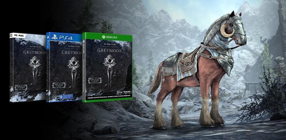 Greymoor Editions Pre Purchase Rewards The Elder Scrolls Online
