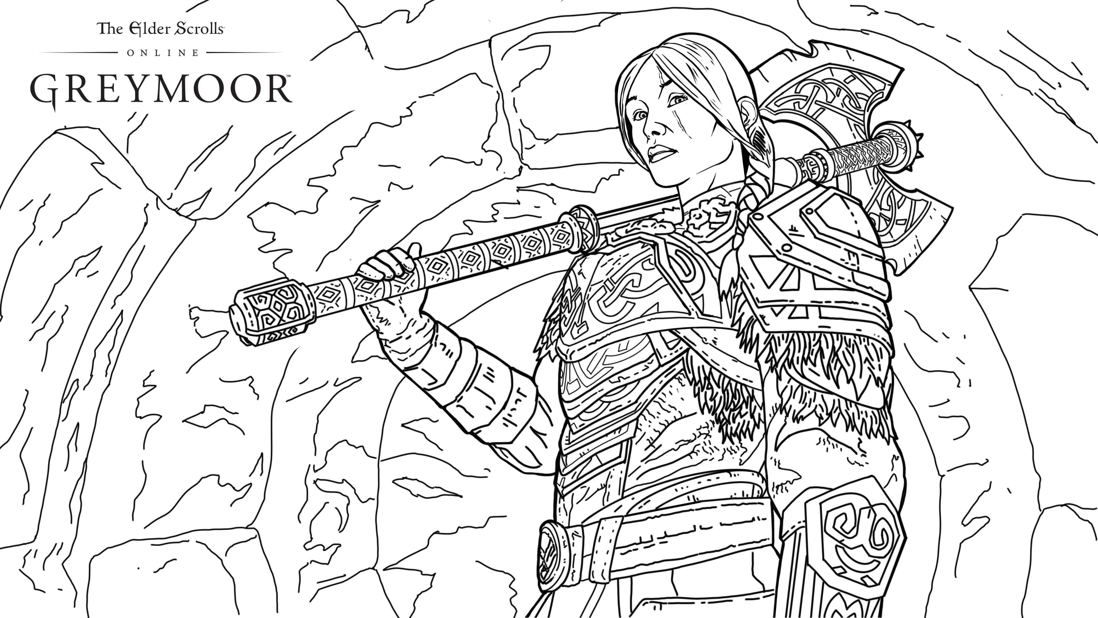 - Get Creative At Home With These Greymoor Coloring Pages - The