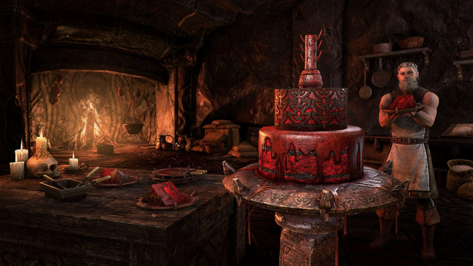 Праздничный торт2021!