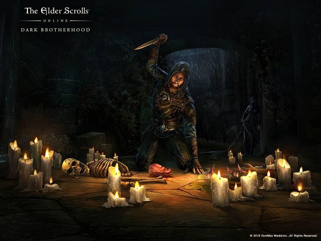 elder scrolls online how to get into the dark brotherhood