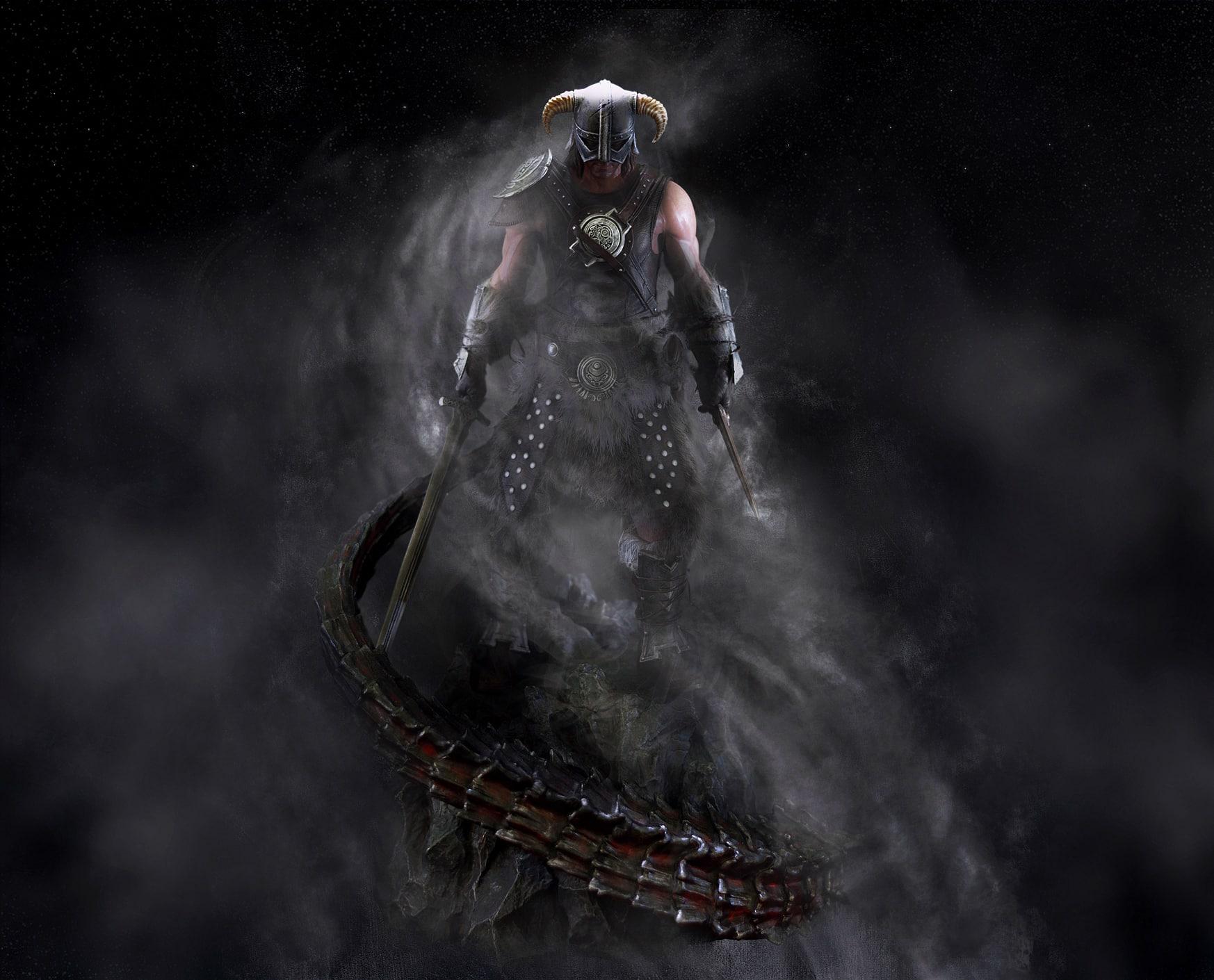 New Dragonborn Statue Pre Order Today The Elder Scrolls