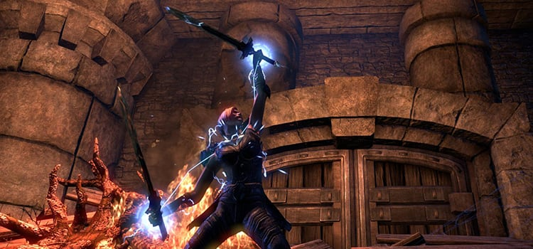 Battlemaster's Corner – Lightning Tornado - The Elder Scrolls Online