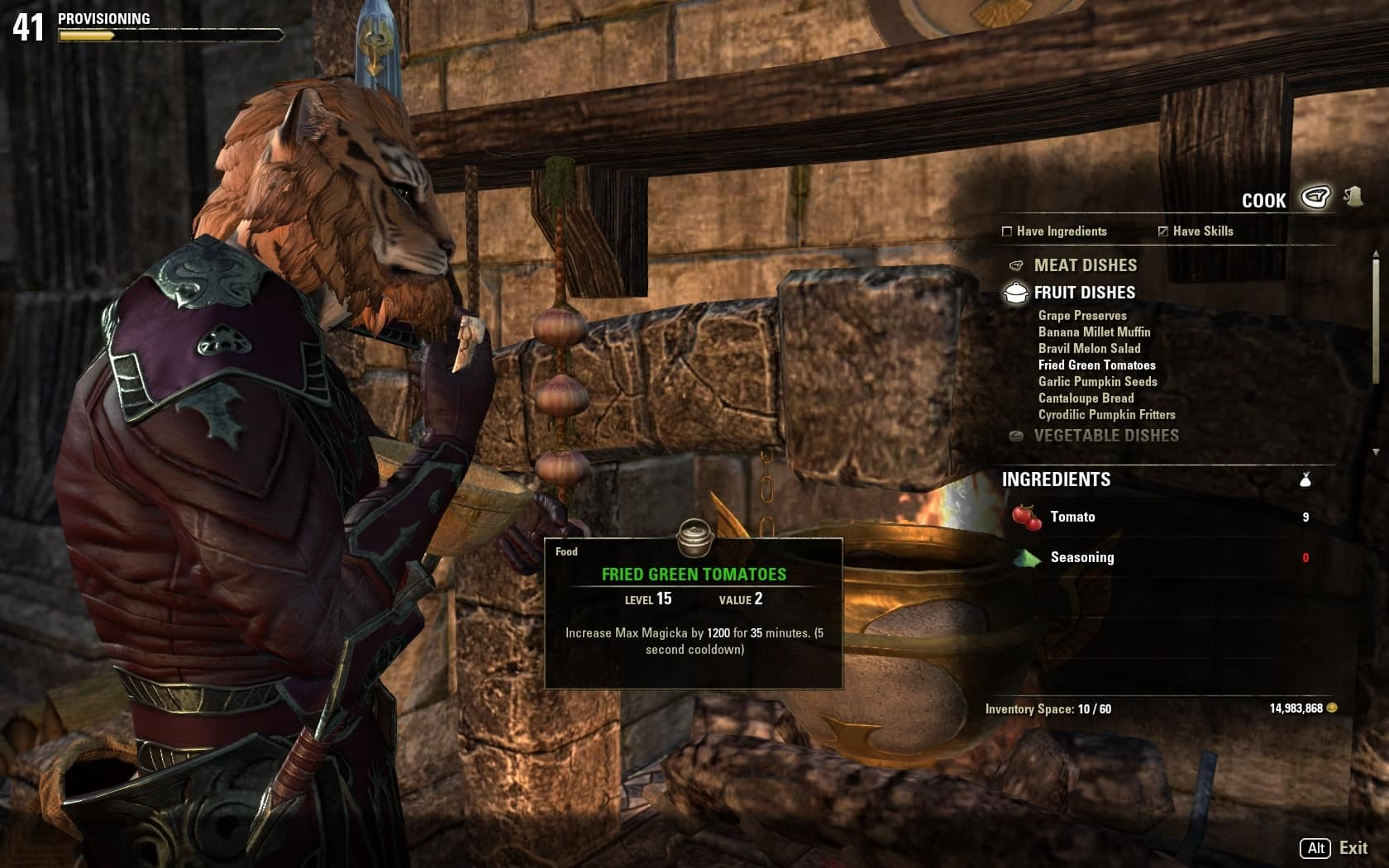 Update 6 guide provisioning the elder scrolls online there are other ways to obtain ingredients too you can get them through cleaning and gutting fish youve caught as a reward for crafting writs forumfinder Gallery