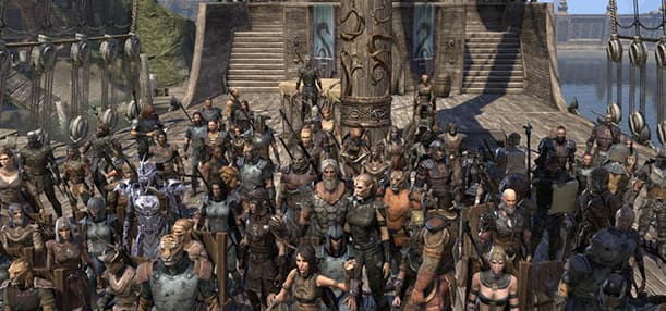 Guild Spotlight The Old Timers Guild The Elder Scrolls Online