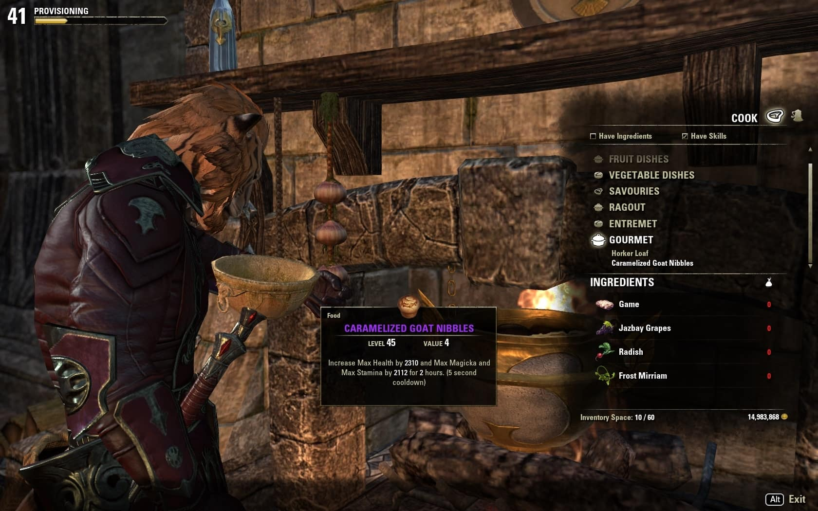 Update 6 guide provisioning the elder scrolls online recipes forumfinder Choice Image