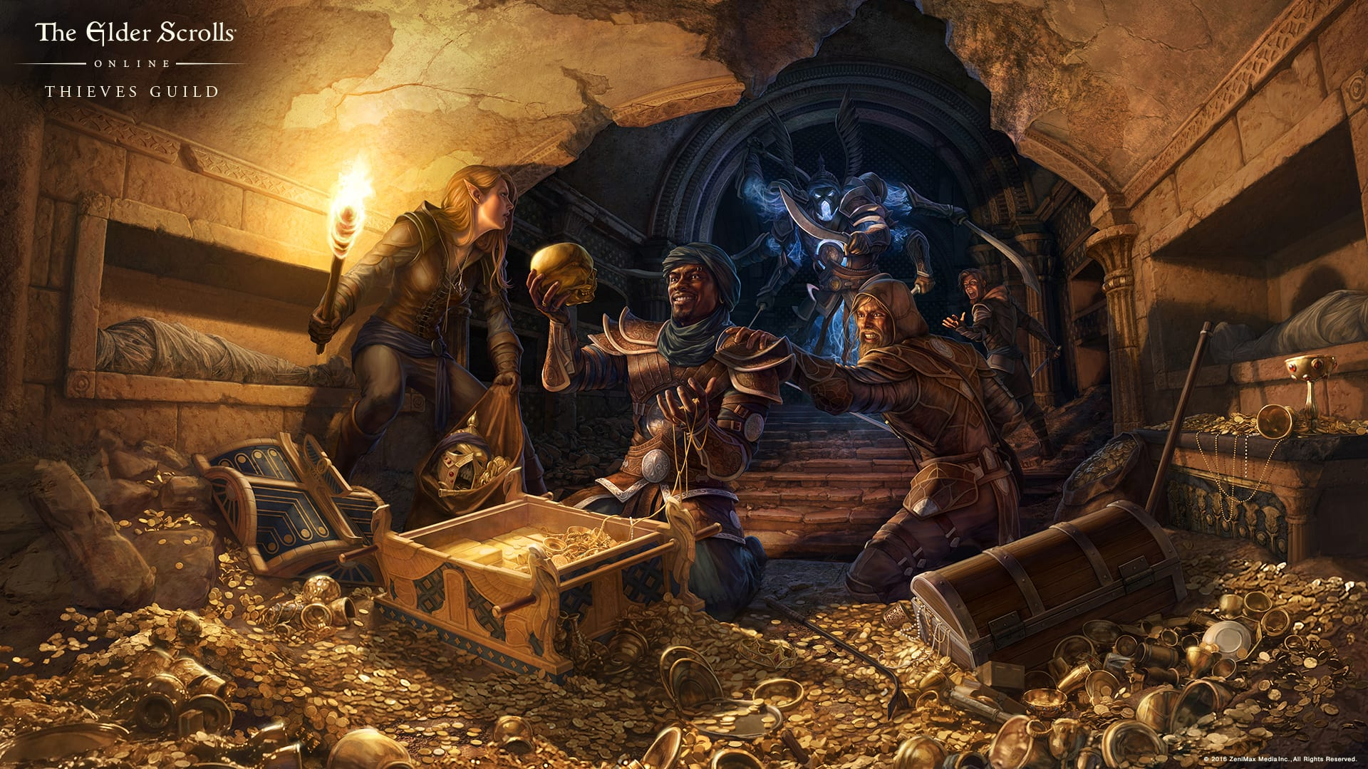 Nocturnal Skyrim Wallpaper