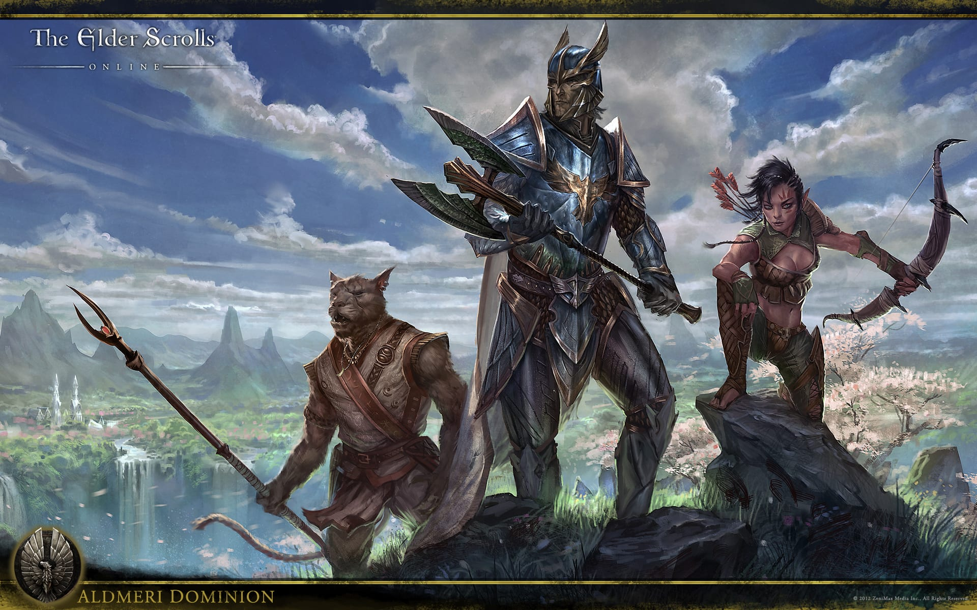 Best Elder Scrolls Online Hd Wallpaper - best wallpaper